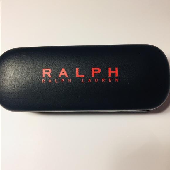 RALPH-RALPH LAUREN-Eyeglass Black/Red Case